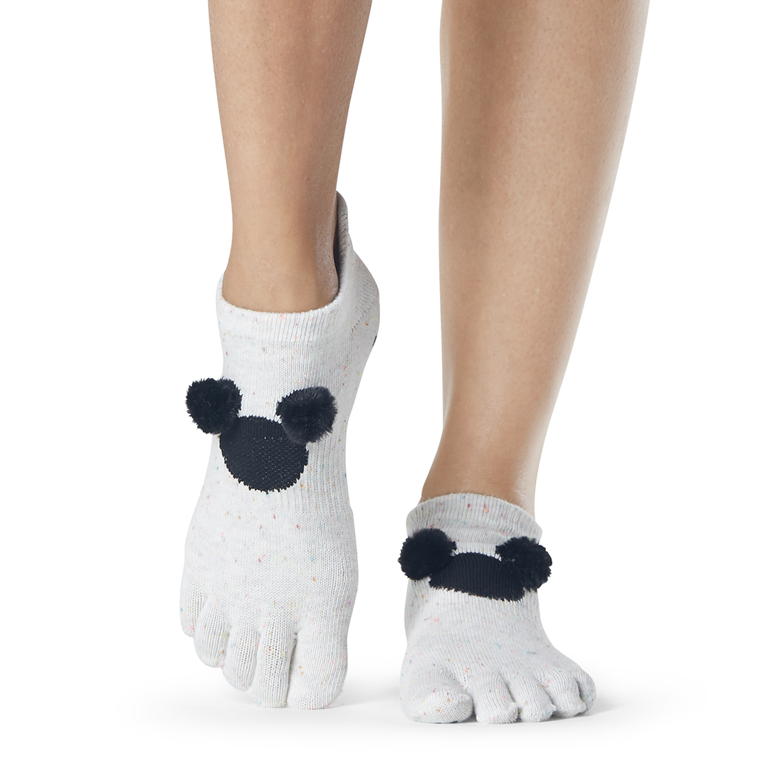 (품절임박)Disney 한정판 ToeSox Grip F/T Low Rise PomPom Mickey