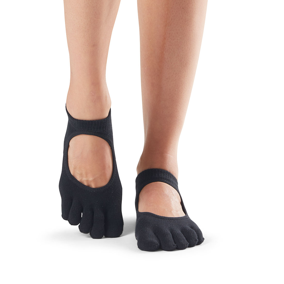 ToeSox Grip F/T Bellarina Black