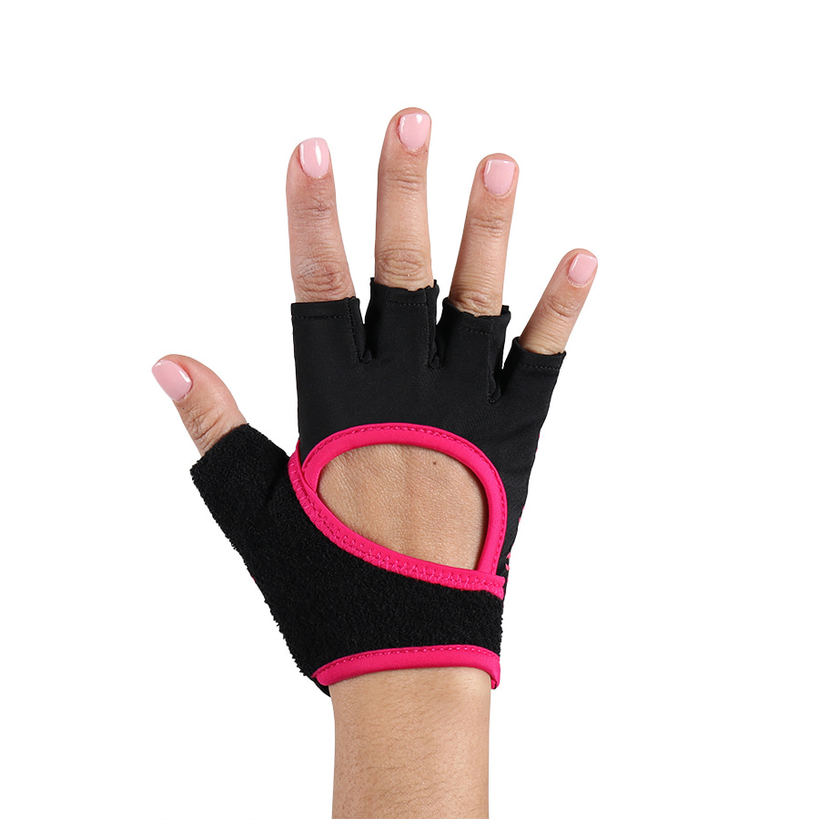 ToeSox Training Gloves Grip Pink