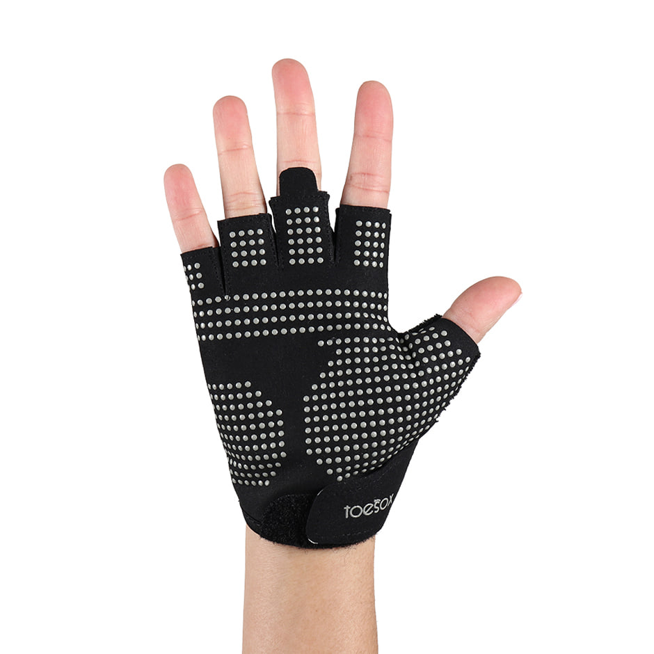 ToeSox Training Gloves Grip Blk